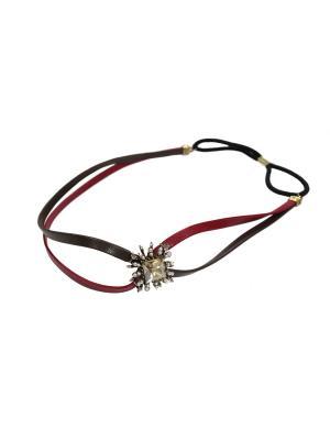 Греческий ободок Lastoria. Цвет: красный