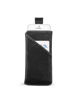 Чехол для iPhone 5/5s/SE ZAVTRA. Цвет: черный