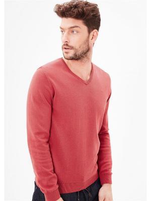 Пуловер S.OLIVER. Цвет: малиновый