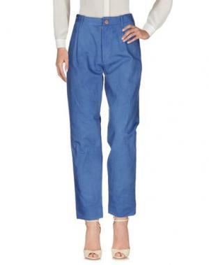 Повседневные брюки SUZUSAN. Цвет: синий