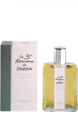 Туалетная вода Le 3e Homme de Caron. Цвет: бесцветный