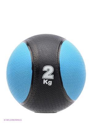 Медицинбол, 2 кг Start Up. Цвет: синий, черный