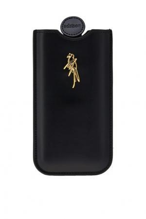 Кожаный чехол для iPhone 7 Edition 10. Цвет: черный