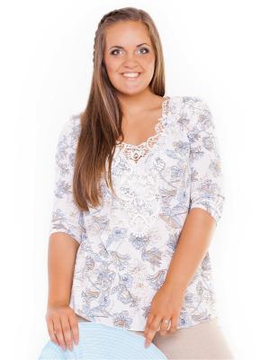 Блузки Lady Sharm Classic. Цвет: серый