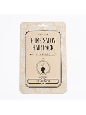 Восстанавливающая маска для волос, 16мл/HOME SALON HAIR PACK KOCOSTAR. Цвет: желтый