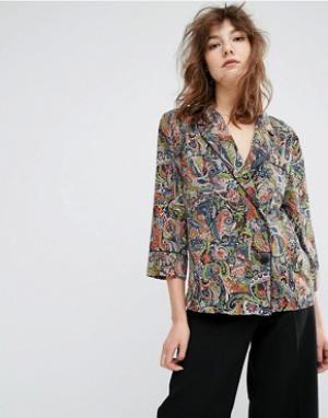 Essentiel Antwerp Рубашка с принтом Madras. Цвет: мульти