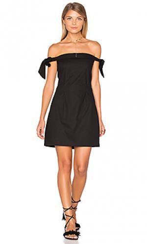 Мини платье new york MLM Label. Цвет: черный