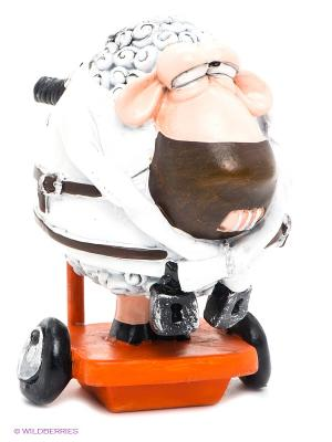 Фигурка Овца Ганнибал Лектор The Comical World of Stratford. Цвет: белый, оранжевый
