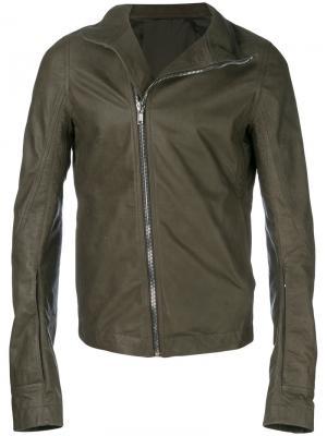 Байкерская куртка Mollino Rick Owens. Цвет: серый