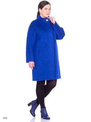 Пальто SHARTREZ. Цвет: синий