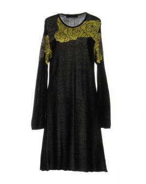 Платье до колена EVALINKA. Цвет: черный