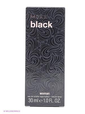 Туалетная вода Black Woman, 30 мл MEXX. Цвет: черный