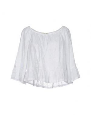 Блузка GIORGIA & JOHNS. Цвет: белый