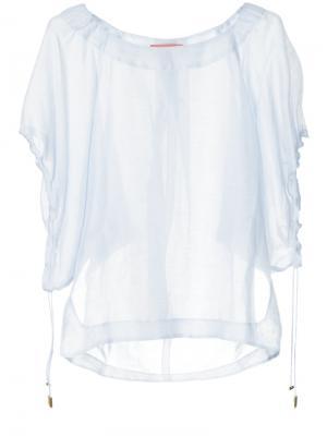 Блузка Knots & Ties Manning Cartell. Цвет: синий