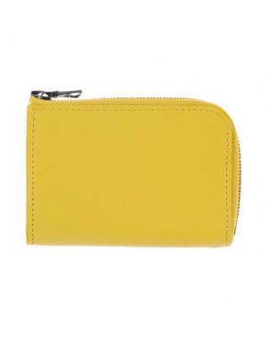 Чехол для документов ISAAC REINA. Цвет: желтый