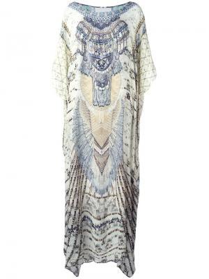 Декорированная пляжная накидка Camilla. Цвет: многоцветный