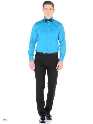 Рубашка мужская манжет под запонки WHITE CUFF. Цвет: темно-зеленый