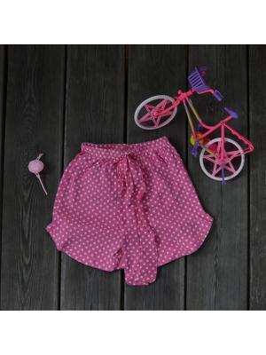 Шорты Amalfy. Цвет: розовый