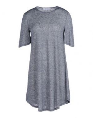 Короткое платье WHITE TENT. Цвет: темно-синий