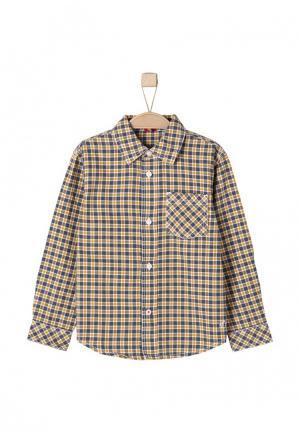 Рубашка s.Oliver. Цвет: коричневый