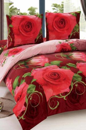 Постельное белье, 1,5 сп. Amore Mio. Цвет: красный, бордовый
