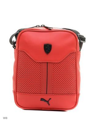 Сумка Ferrari LS Portable Puma. Цвет: красный