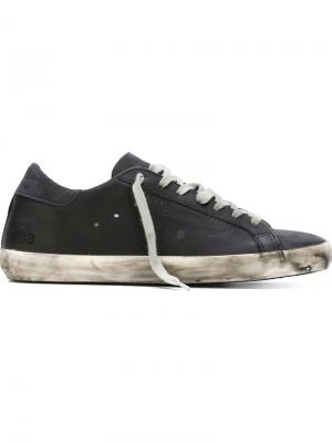 Кеды Super Star Golden Goose Deluxe Brand. Цвет: чёрный