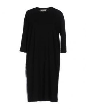 Короткое платье AND LESS. Цвет: черный