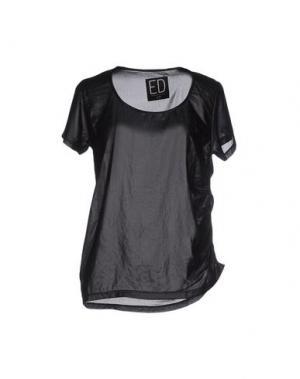 Блузка ED 2.0. Цвет: черный