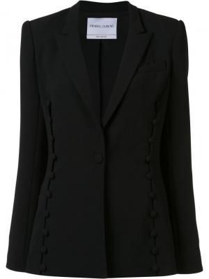 Пиджак с застежкой на пуговицу Prabal Gurung. Цвет: чёрный