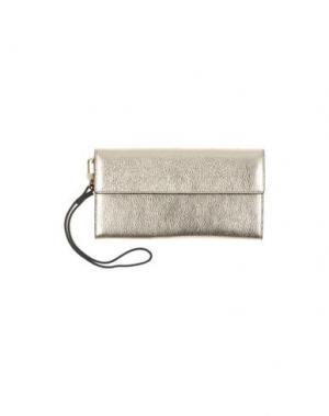 Бумажник GIUDI. Цвет: платиновый