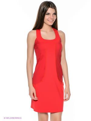 Платье Grishko. Цвет: красный