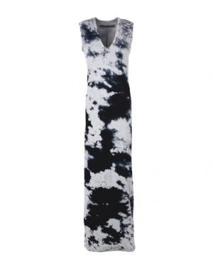 Длинное платье ENZA COSTA. Цвет: светло-серый