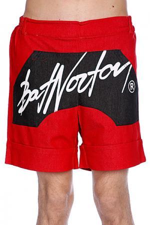 Шорты  Unisex Basic Shorts Red Bat Norton. Цвет: красный,черный