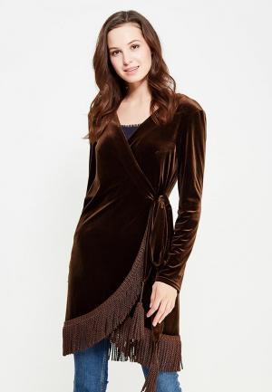 Платье Èssmy. Цвет: коричневый