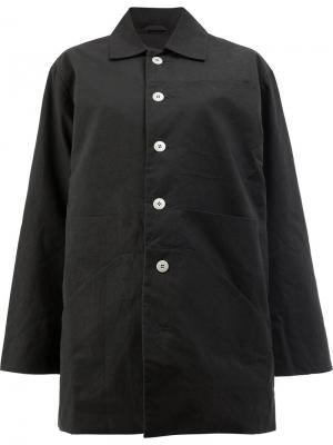 Куртка на пуговицах Toogood. Цвет: чёрный