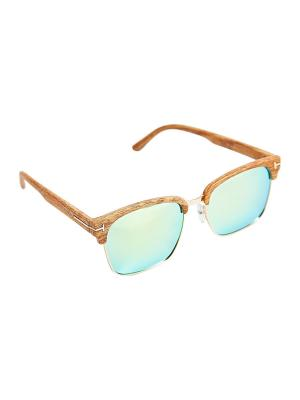 Солнцезащитные очки Kameo-bis. Цвет: коричневый, зеленый