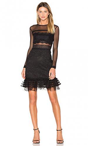 Платье stargate Three Floor. Цвет: черный
