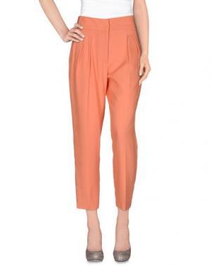Повседневные брюки FABRIZIO LENZI. Цвет: лососево-розовый