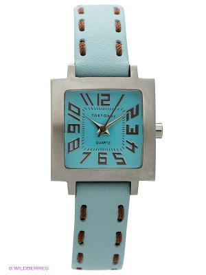 Часы TOKYObay. Цвет: светло-голубой