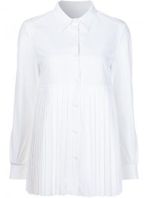 Рубашка Sun Pleat Co. Цвет: белый