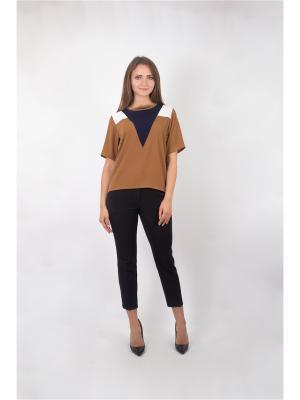Блузка Minimum. Цвет: коричневый