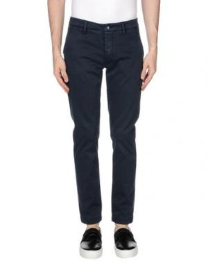 Повседневные брюки TELERIA ZED. Цвет: темно-синий