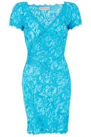Платье Emilio Pucci. Цвет: голубой
