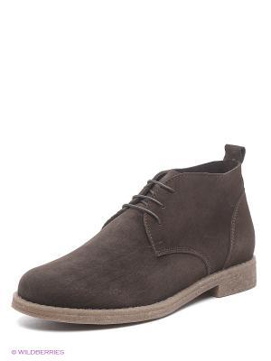 Ботинки BERG. Цвет: коричневый