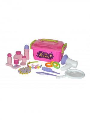 Набор Маленькая принцесса №7 (в контейнере) POLESIE. Цвет: розовый