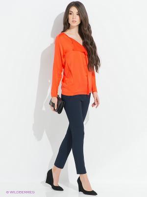 Блузка PINKO. Цвет: оранжевый
