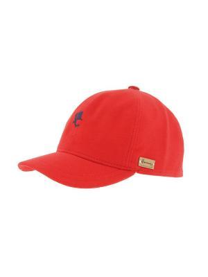 Бейсболка HERMAN. Цвет: красный