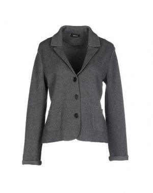Пиджак ANNECLAIRE. Цвет: свинцово-серый