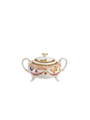 Сахарница Italy Design Elff Ceramics. Цвет: розовый